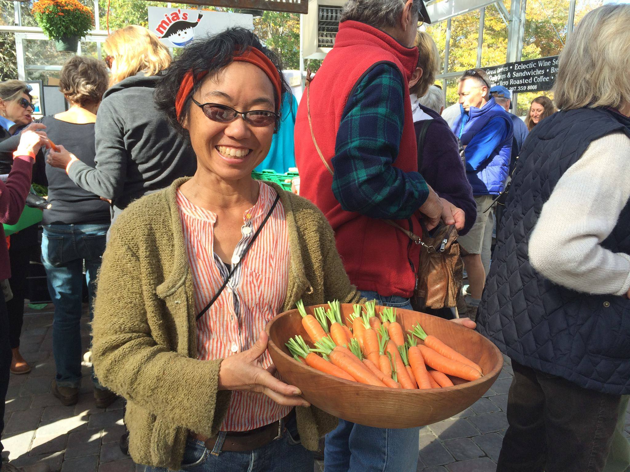 Fresh Carrots at the Farmer's Market