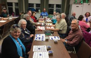 Salt Air Seniors playing bingo