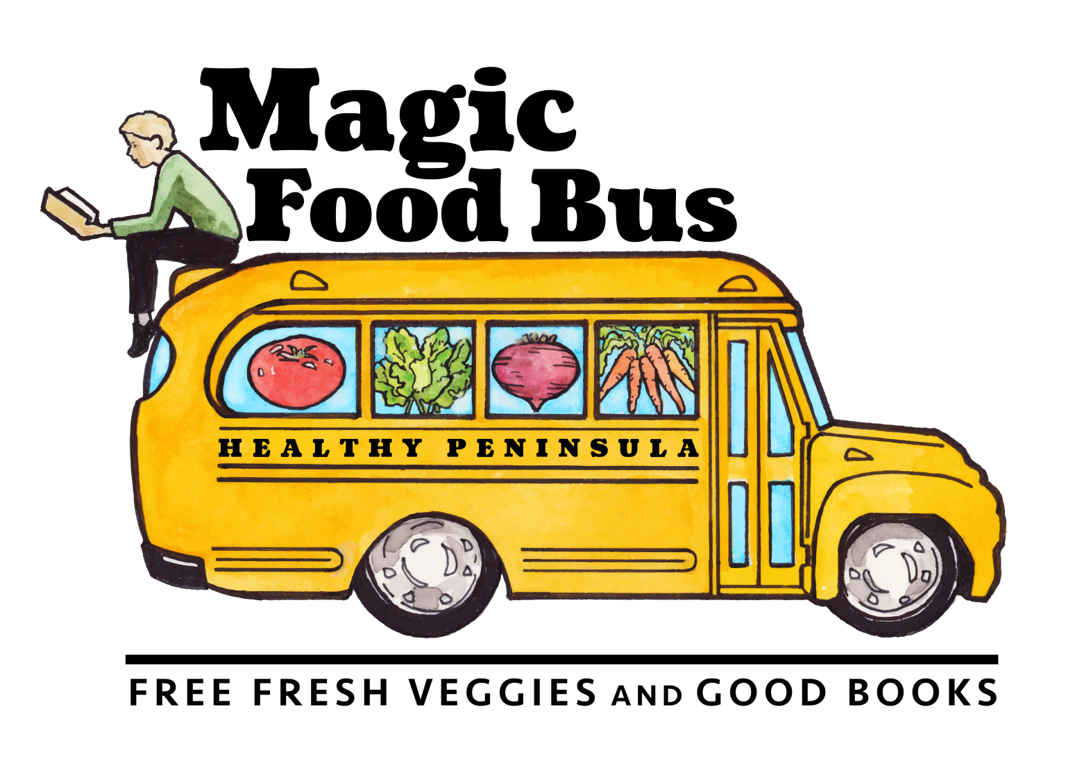 Magic Food Bus Drawing